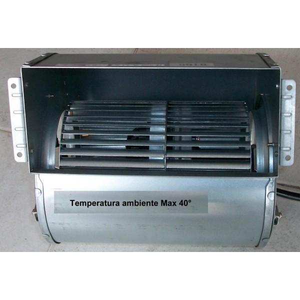 Ventola doppia aspirazione 720 mch kalor matik for Ventola centrifuga stufa pellet